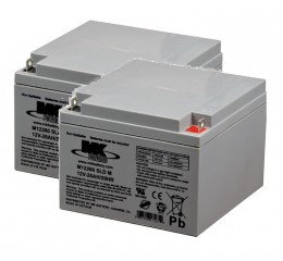 MK Battery M12260 SLD M AGM Battery (2 Batteries)