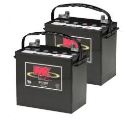 MK Battery MU-1 SLD A AGM Battery (2 Batteries)