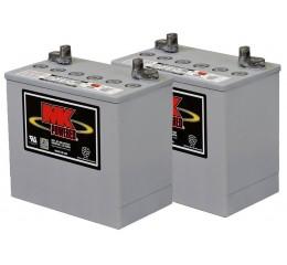 MK M22NF SLD G Gel 12 Volt - 51Ah Battery (Pair)