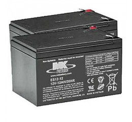 MK Battery ES14-12 SLA AGM Battery (2 Batteries)