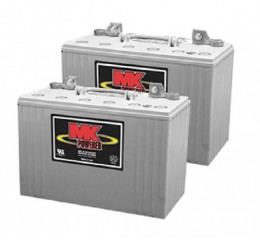 MK M31 SLD G Gel 12 Volt - 98Ah Battery (Pair)