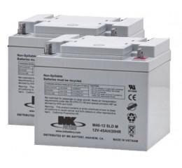 MK M40-12 SLD M AGM Battery (2 Batteries)