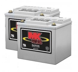 MK M40 SLD G Gel 12 Volt - 40Ah Battery (Pair)
