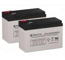 Pride Mobility Go-Go ES 2 Scooter Replacement Battery (2 Batteries)