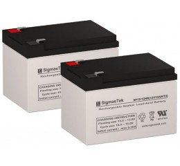 Shoprider XtraLite 3 and 4 Wheel Replacement Battery (2 Batteries)