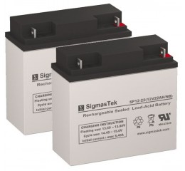 Rascal 200T Scotter Replacement Battery (2 Batteries)