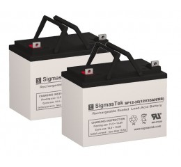 Shoprider Sprinter XL4 Scooter Replacement Battery (2 Batteries)