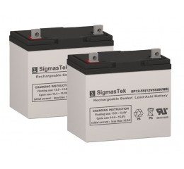 Power Sonic PS12550 Equivalent Replacement Battery SP12-55