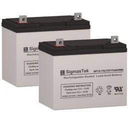 Douglas Guardian DG1260  Equivalent Replacement Battery SP12-75
