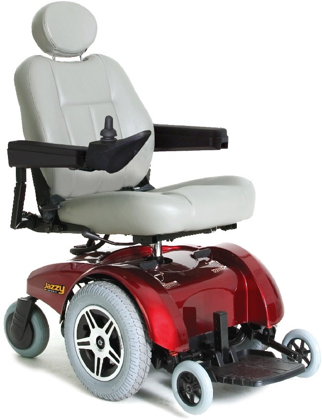 pride mobility jazzy select 14 power wheelchair battery