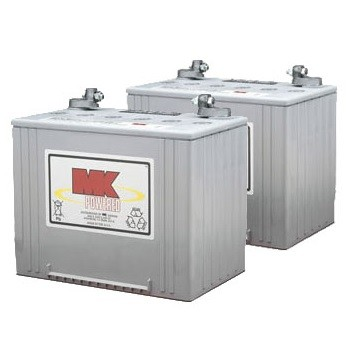 mk battery m24 sld g 12 volt 74 ah gel battery pair. Black Bedroom Furniture Sets. Home Design Ideas
