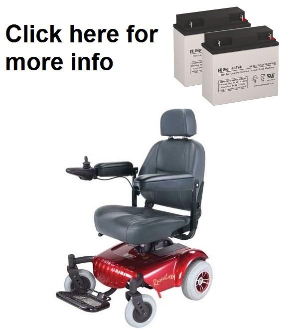 Rascal 320 PC Power Wheelchair Battery (2 Batteries)  sc 1 th 235 & Rascal 320 PC Power Wheelchair Battery SP12-18