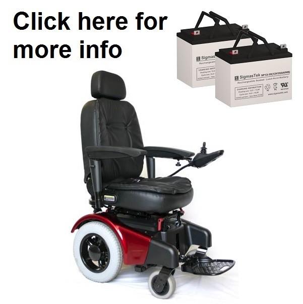 shoprider jetstream power wheelchair battery 2 batteries rh ezmobilitybattery com