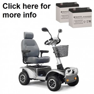 ActiveCare Osprey 4410 Scooter Replacement Battery (2 Batteries)