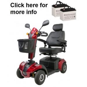 EV Rider CityRider Scooter Battery (2 Batteries)