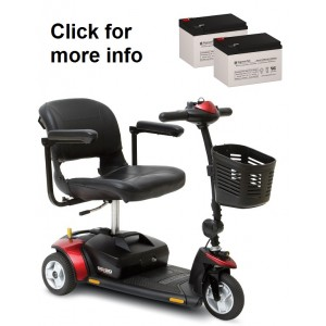All Pride Mobility Go-Go Mobility Scooter Batteries