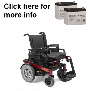 Invacare 3G Storm Ranger X Replacement Battery (2 Batteries)