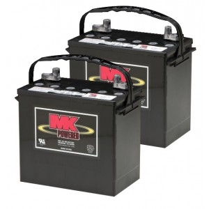 MK Battery MU-1 SLD A AGM Battery (2 Batteries)