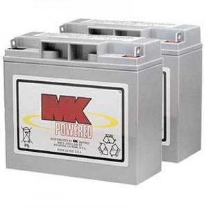MK Battery M17-12 SLD M AGM Battery (2 Batteries)