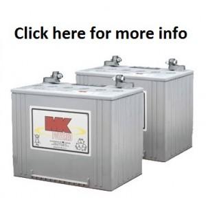 MK M24 SLD G Gel 12 Volt - 74Ah Battery (Pair)
