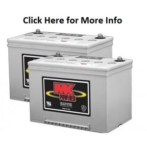 MK M34 SLD G Gel 12 Volt - 60Ah Battery (Pair)