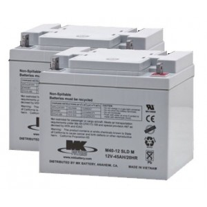 MK Battery M50-12 SLD M AGM Battery (2 Batteries)