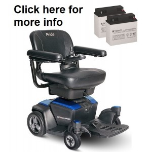 Pride Mobility Go-Chair (New Model) Battery (2 Batteries)