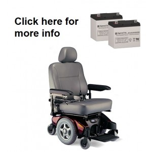 Invacare Pronto M94 Powerchair Replacement Battery (2 Batteries)