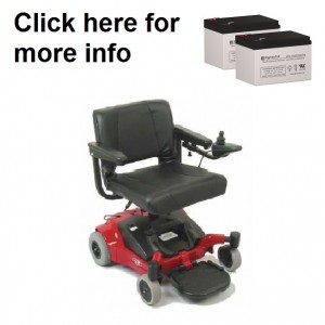 Quickie Melody Power Wheelchair Replacement Battery