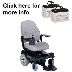 Rascal 410 and 415 PC Powerchair (2 Batteries)