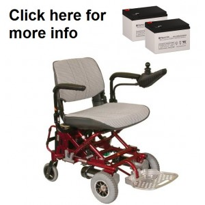 Rascal 760 Fold N Go Powerchair Battery (2 Batteries)