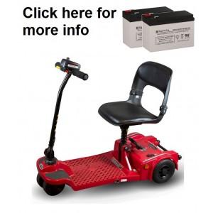 Shoprider Echo Folding Scooter Battery (2 Batteries)