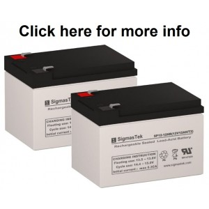 Yuasa NP12-12 Equivalent Replacement Battery SP12-12