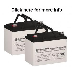 Pride Mobility Quantum J6 Replacement Battery (2 Batteries)
