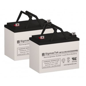 Casil CA 12350 12V, 35AH Equivalent Replacement Battery SP12-35
