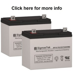 Douglas Guardian DG1260  Equivalent Replacement Battery SP12-75